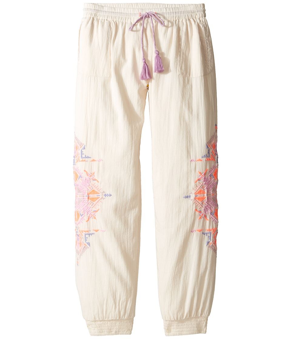 Bowie X James - Running Deer Pants (Toddler/Little Kids/Big Kids) (Cream) Girl's Casual Pants
