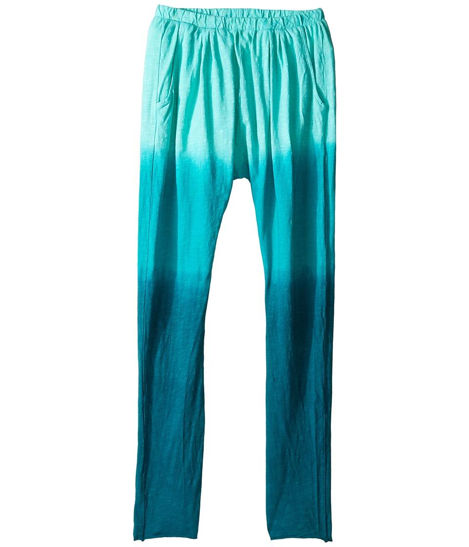 Bowie X James - Harem Pants (Toddler/Little Kids/Big Kids) (Aqua) Girl's Casual Pants