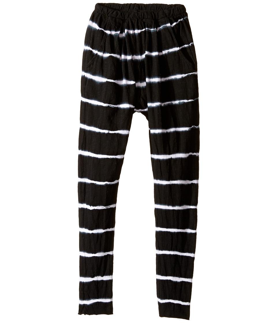 Bowie X James - Harem Pants (Toddler/Little Kids/Big Kids) (Black) Girl's Casual Pants