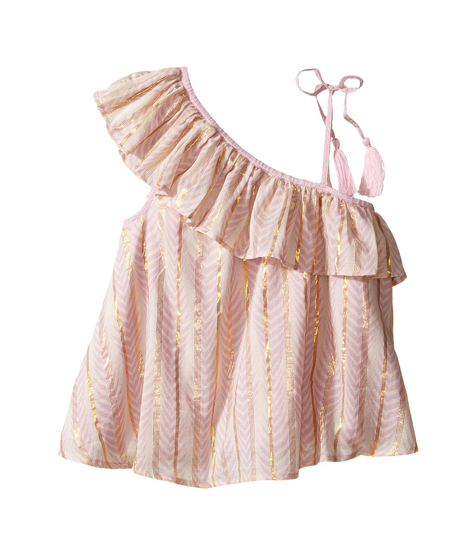 Bowie X James - Turqouise Trail One Shoulder (Toddler/Little Kids/Big Kids) (Lavender) Girl's Sleeveless