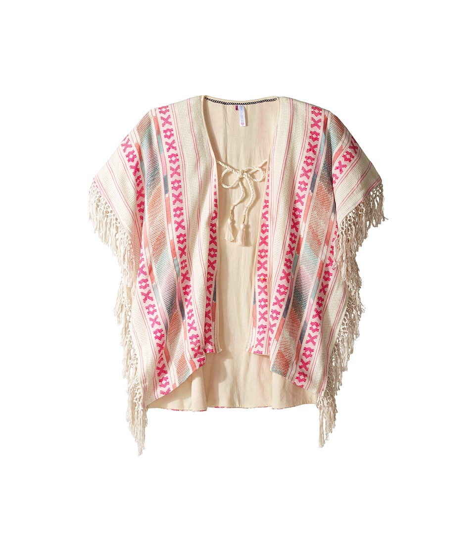 Bowie X James - Mohave Poncho (Little Kids/Big Kids) (Cream) Girl's Sweater