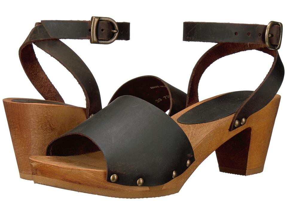 Sanita Yara Square Flex Sandal (Antique Brown) Women
