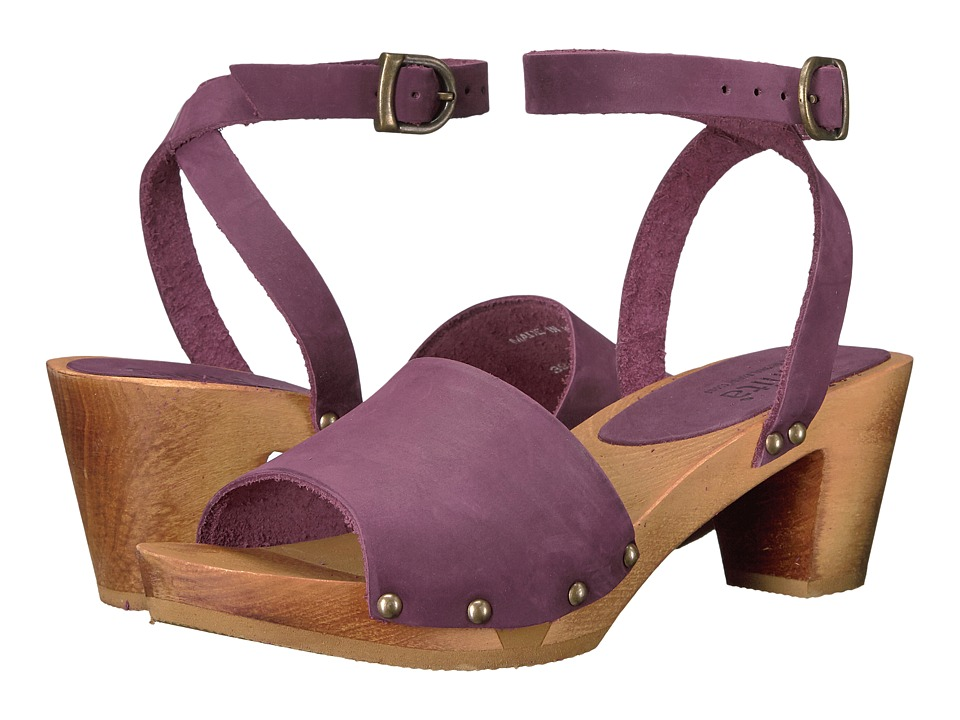 Sanita Yara Square Flex Sandal (Aubergine) Women