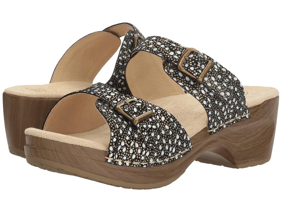 Sanita - Debora (Black Paisley) Women's Shoes