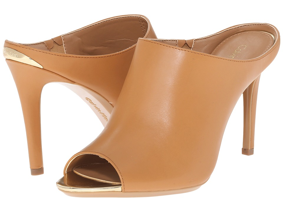 Calvin Klein - Nola (Almond Cow Silk) Women's Shoes
