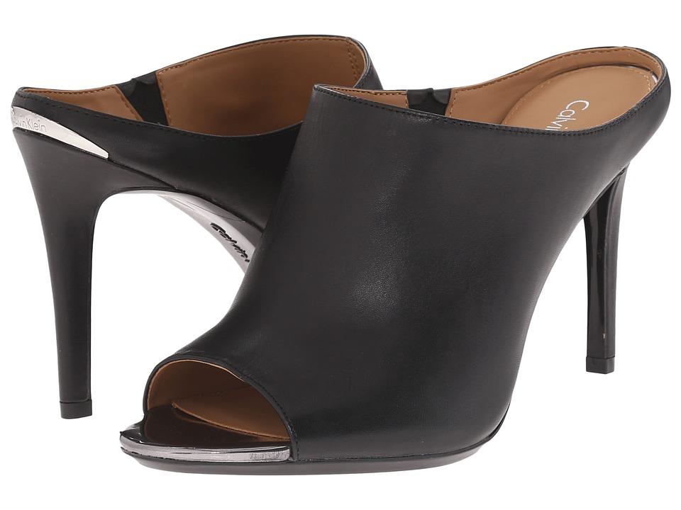 Calvin Klein - Nola (Black/Anthracite Cow Silk) Women's Shoes