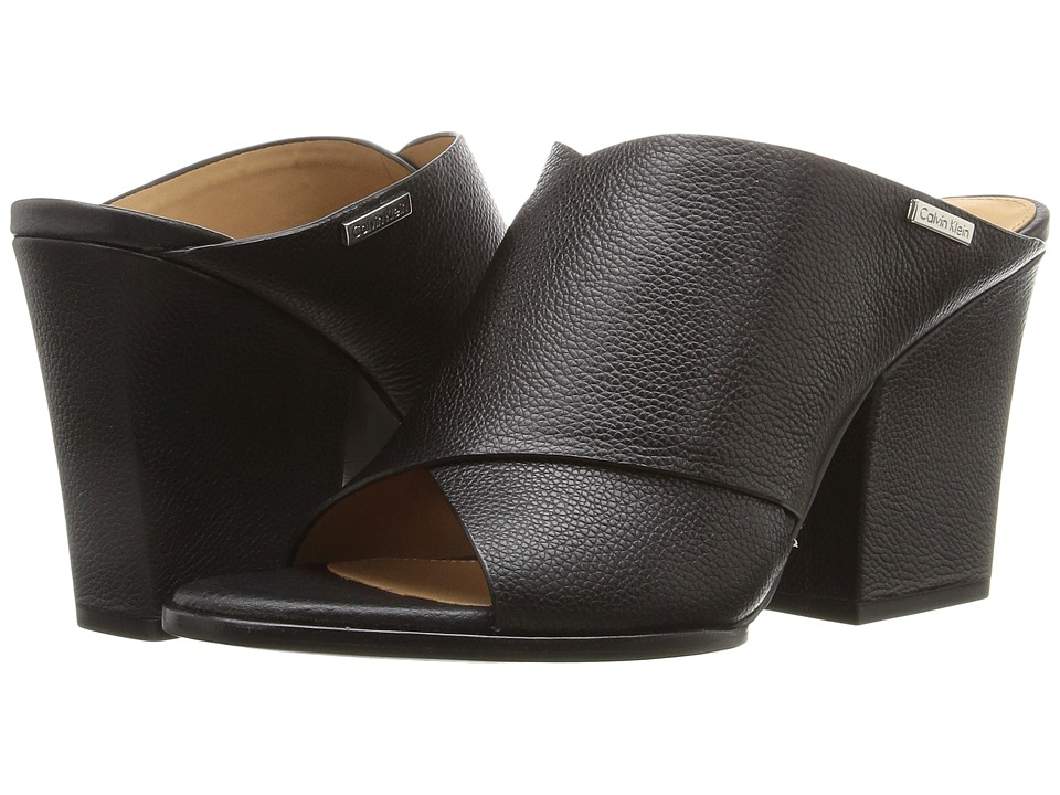 Calvin Klein - Warner (Black Toscana) Women's Shoes