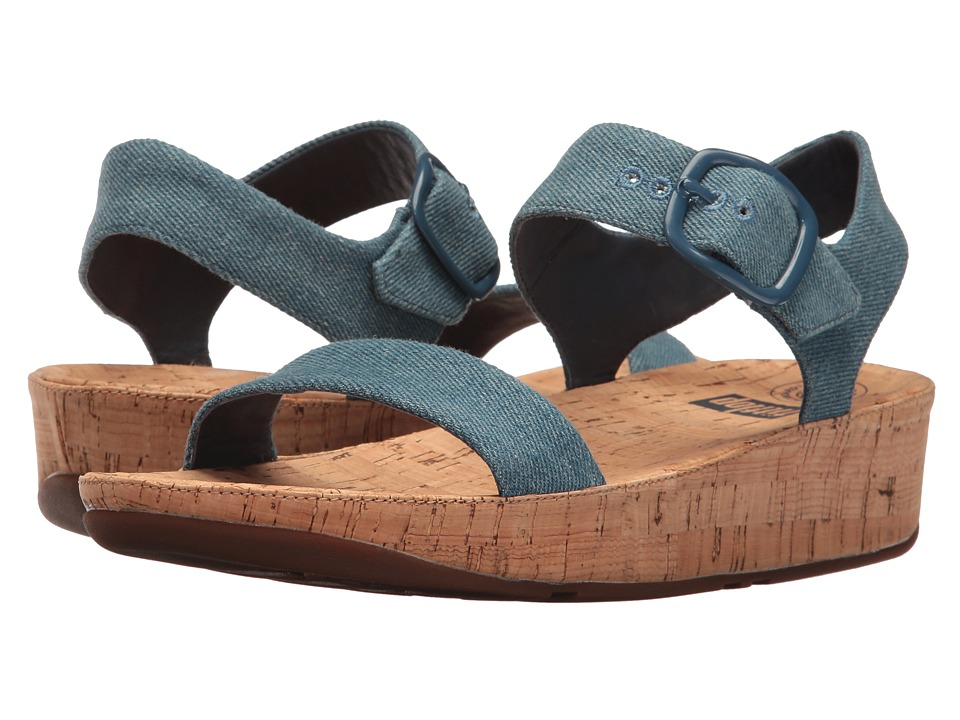 FitFlop - Bon Sandal (Denim) Women's Shoes