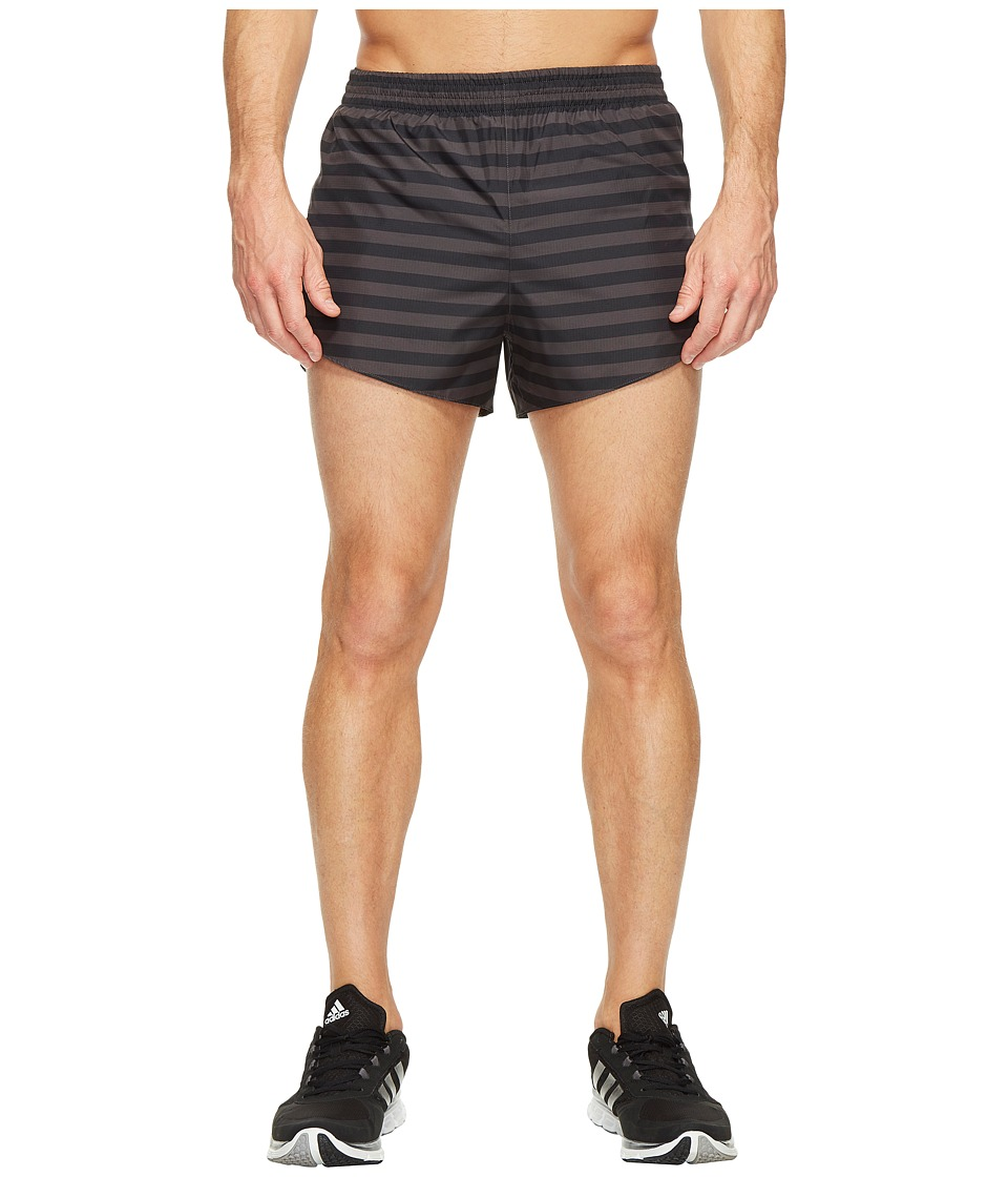 adidas - adiZero Split Shorts (Utility Black) Men's Shorts