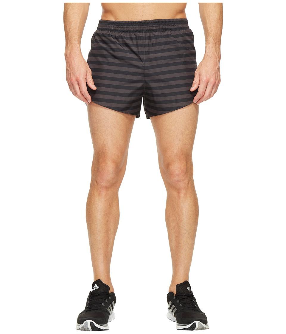 adidas - adiZero Split Shorts (Utility Black) Men's Shorts