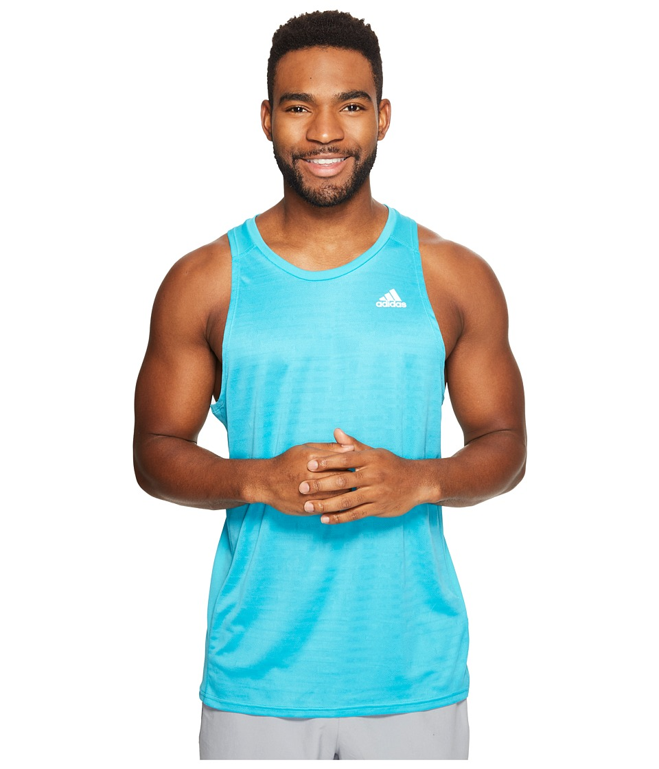 adidas Response Singlet (Energy Blue) Men