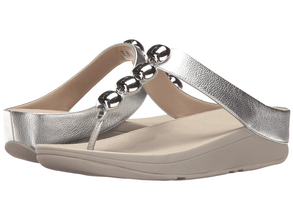 FitFlop - Rola (Silver) Women's Sandals