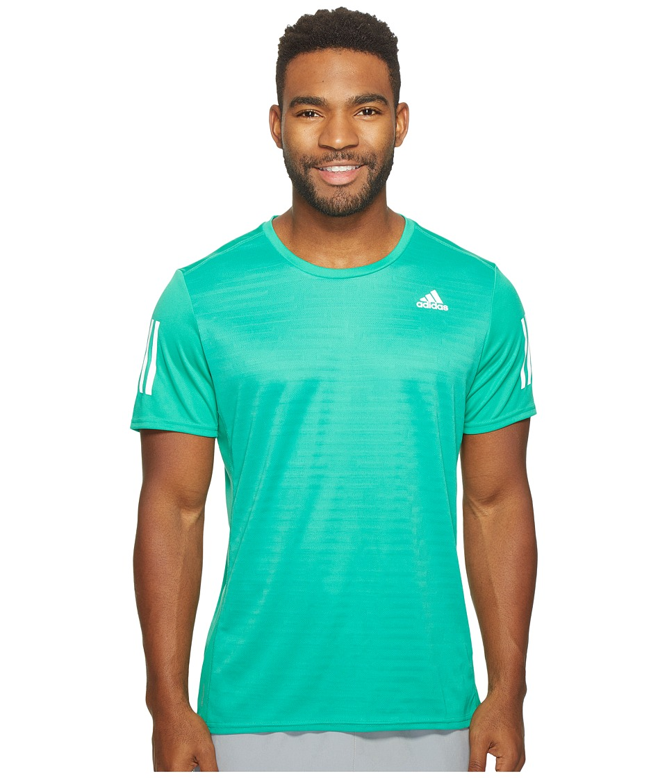 adidas - Response Short Sleeve Tee (Core Green) Men's T Shirt