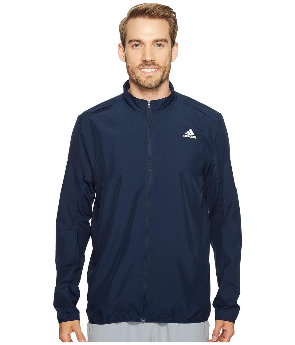 adidas - Response Wind Jacket (Black) Men's Coat