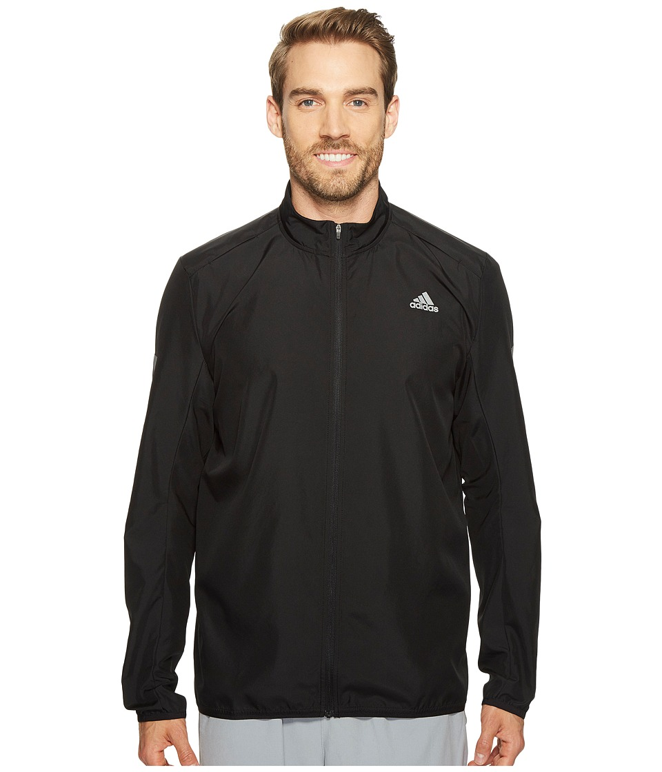 adidas - Response Wind Jacket (Black) Men's Coat