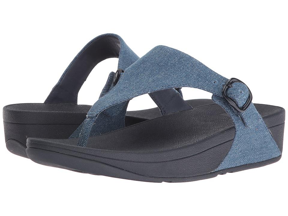 FitFlop - The Skinny (Denim) Women's Sandals