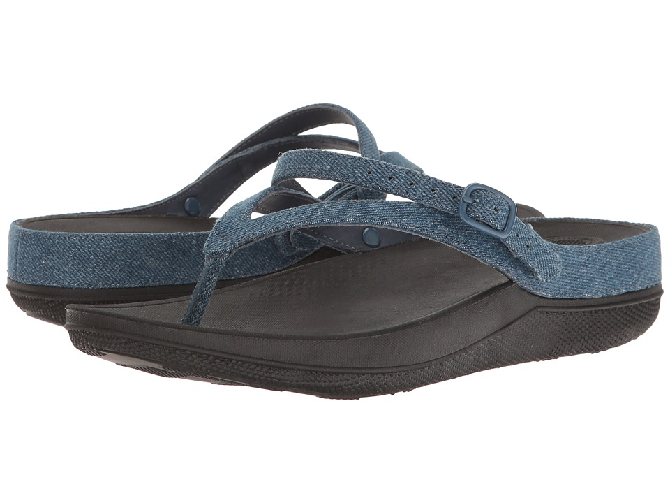 FitFlop Flip Sandals (Denim) Women