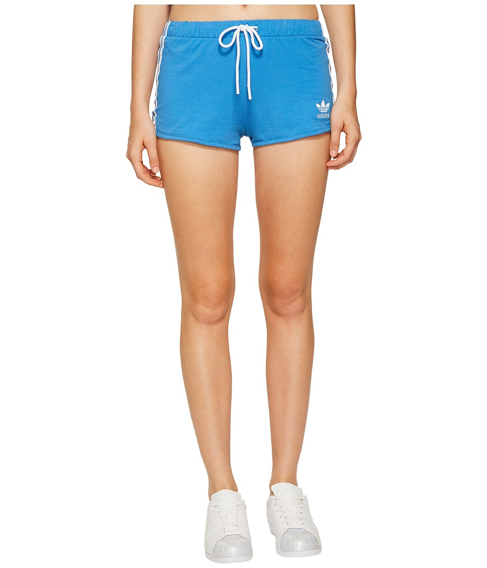 adidas Originals - Slim Shorts (Super Blue) Women's Shorts