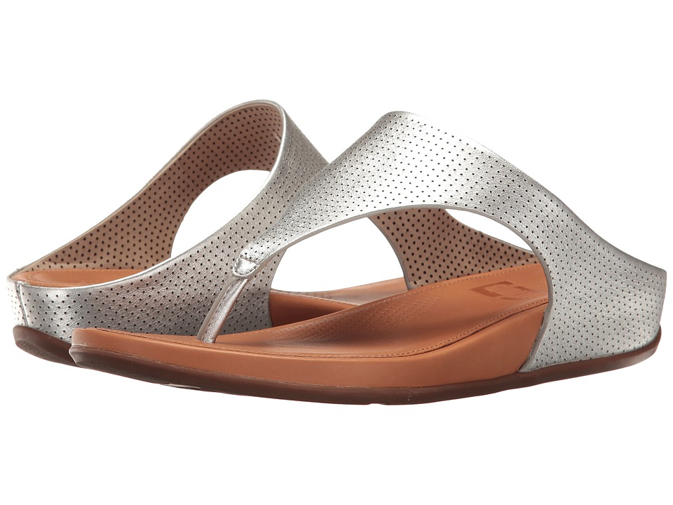 FitFlop - Banda Perf (Silver) Women's Shoes