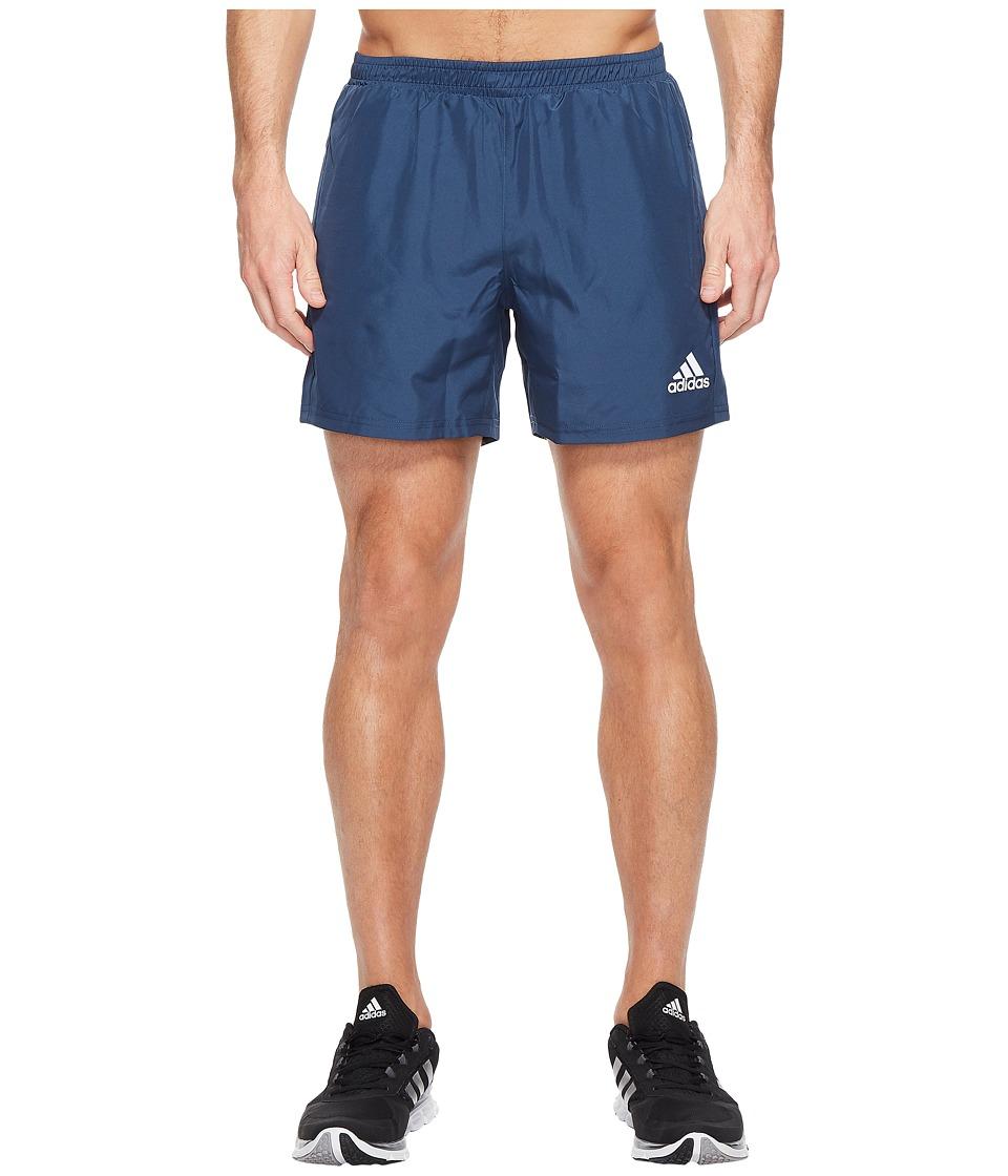 adidas - Sequencials 5 Run Shorts (Mineral Blue) Men's Shorts