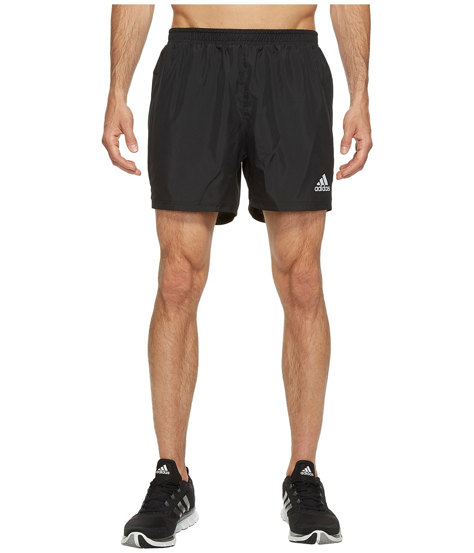 adidas - Sequencials 5 Run Shorts (Black) Men's Shorts