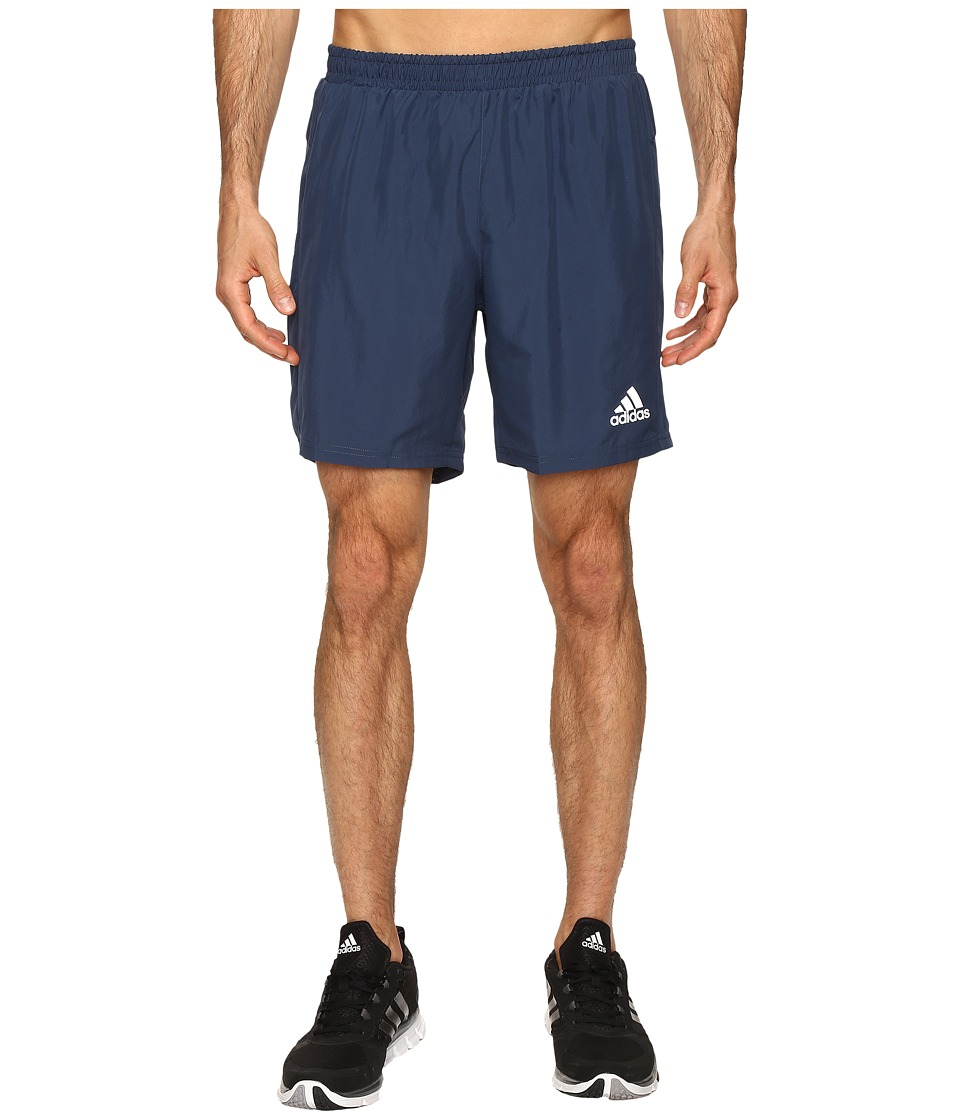 adidas - Run 7 Shorts (Mineral Blue) Men