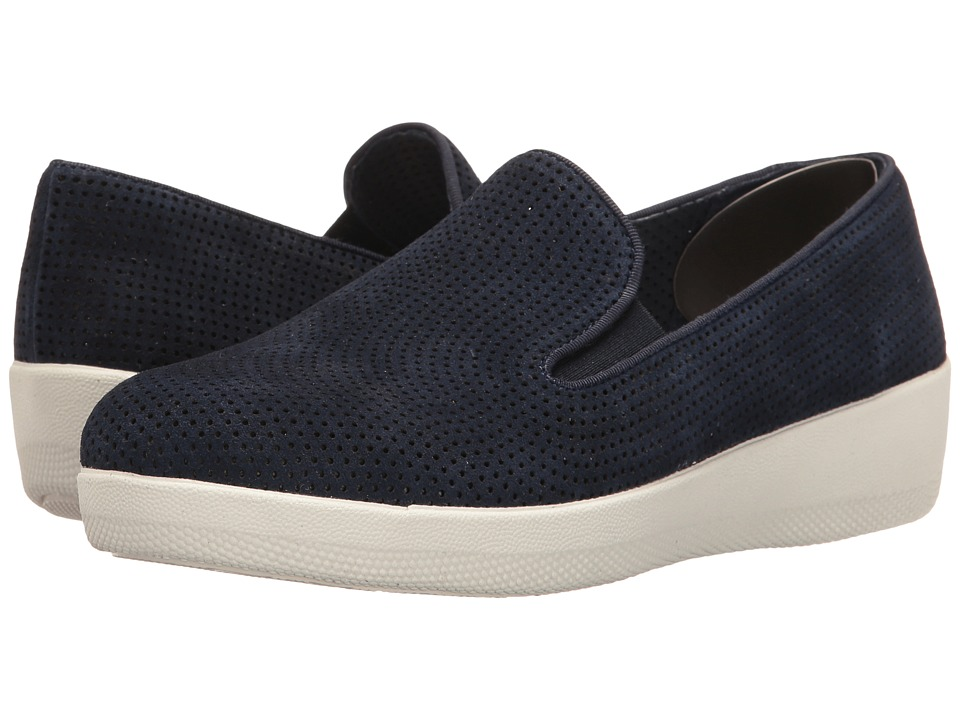 FitFlop - Superskate Perf (Midnight Navy) Women's Shoes