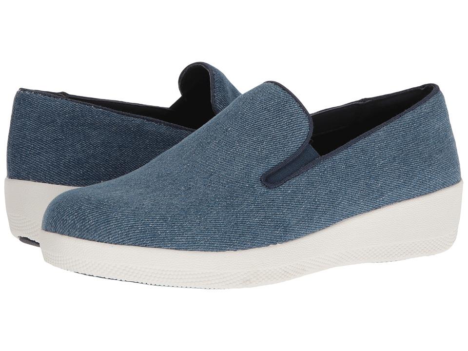 FitFlop - Superskate Denim (Denim) Women's Shoes