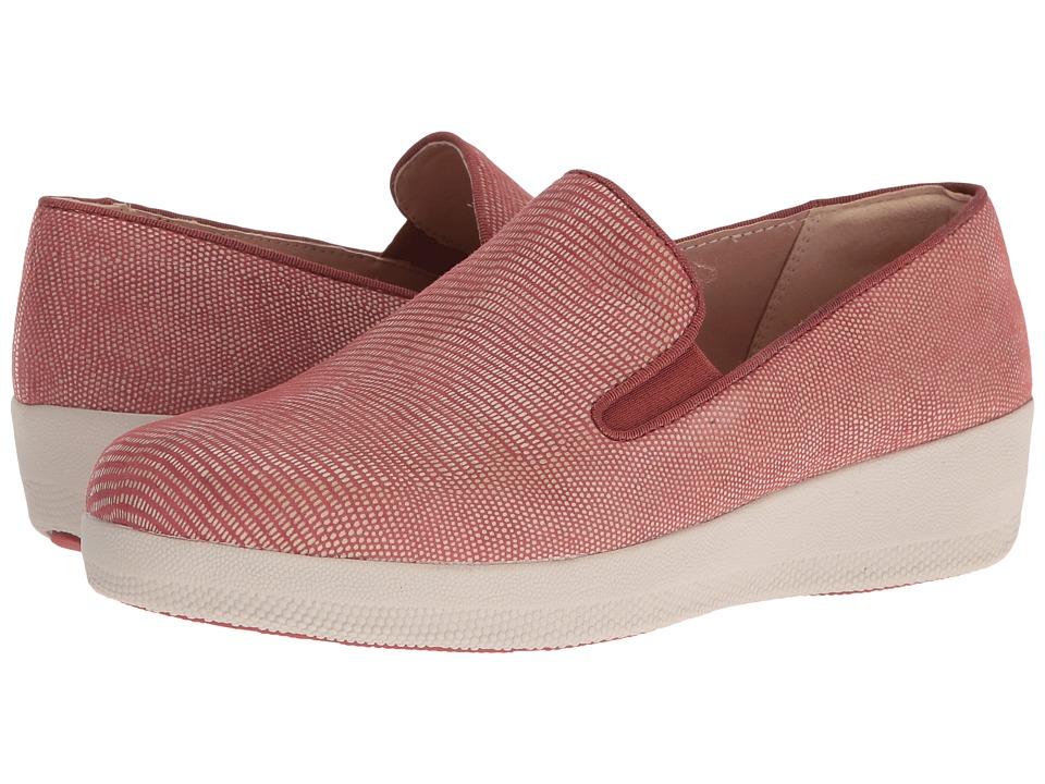 FitFlop - Superskate Lizard Print (Spice) Women's Shoes