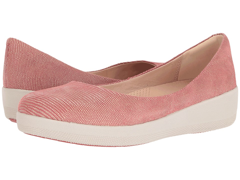 FitFlop Lizard Print Superballerina Spice  Shoes