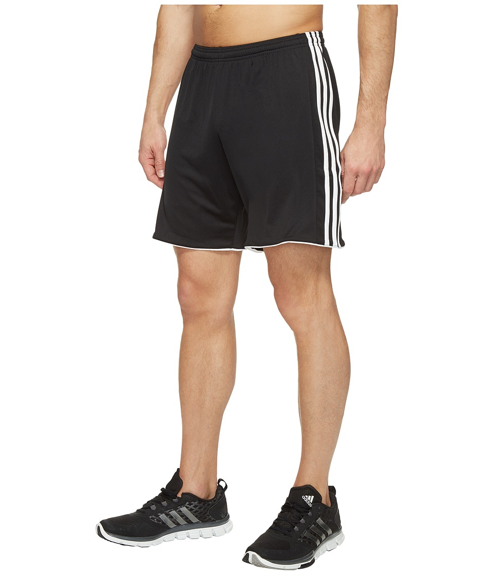 adidas - Tastigo 17 Shorts (Black/White) Men's Shorts