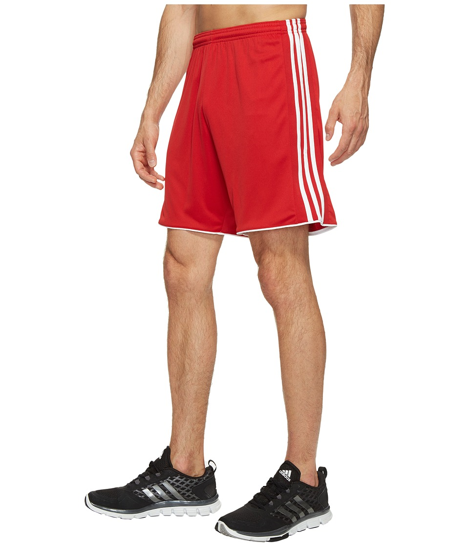 adidas - Tastigo 17 Shorts (Power Red/White) Men's Shorts