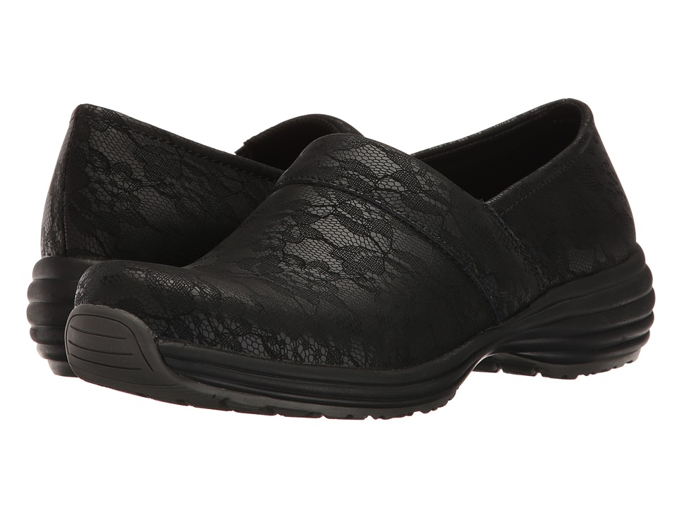 Sanita - O2 Professional Life (Black Print) Women's Clog Shoes