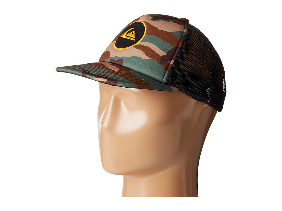 Quiksilver - Snapstearn Hat (Little Kids/Big Kids) (Forest Night) Caps