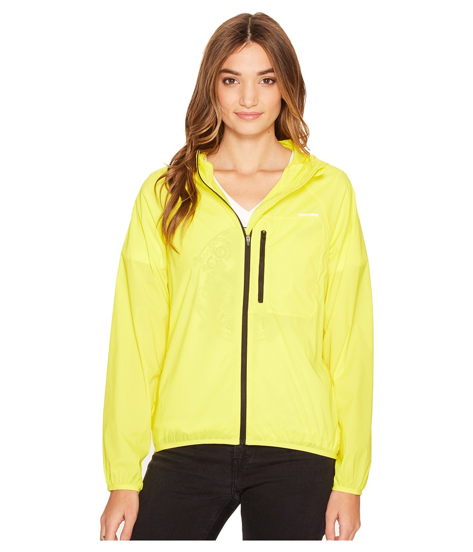 Converse - Windbreaker (Fresh Yellow) Women's Coat