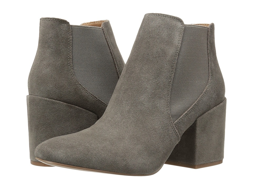 Steve Madden - Doctor (Grey Suede) Women's Dress Boots
