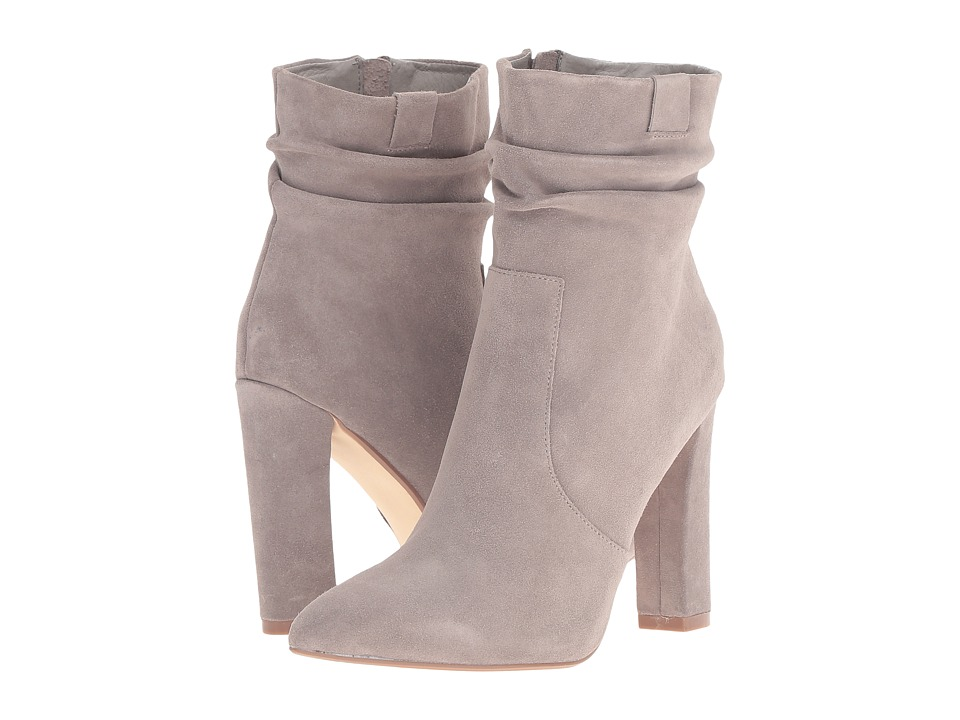 Steve Madden Cellini Taupe Suede Womens Dress Boots