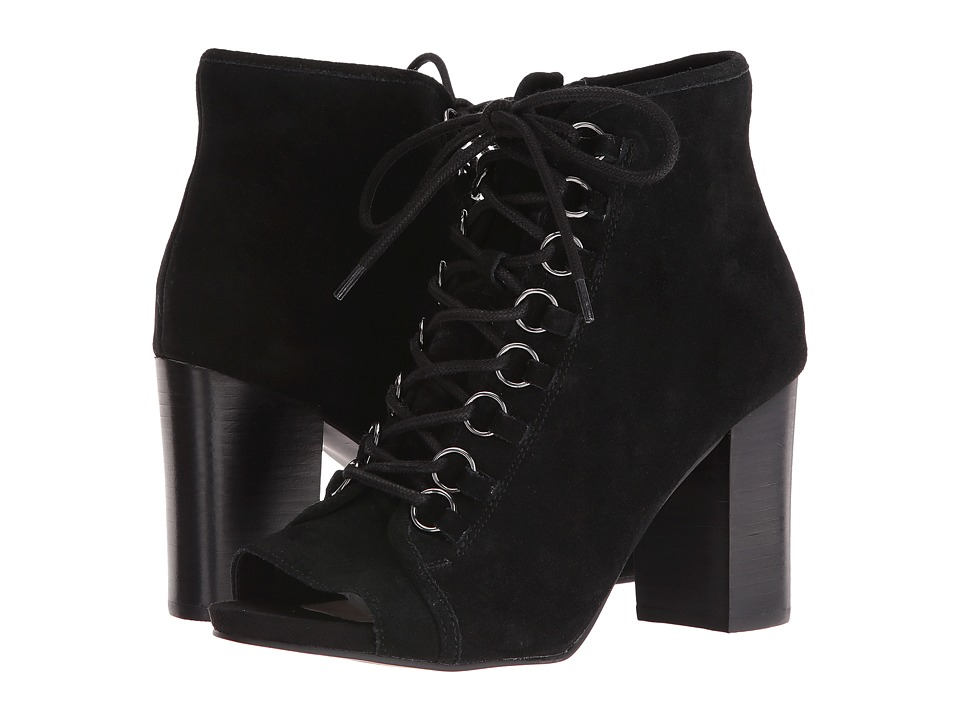 Steve Madden Reply (Black Suede) Women