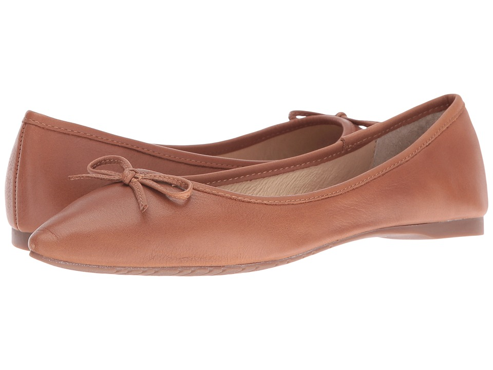 Steve Madden - Shyly (Cognac Leather) Women's Dress Flat Shoes