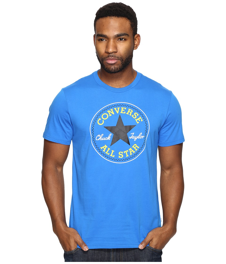 Converse - Core Chuck Patch Tee (Soar Blue) Men's T Shirt