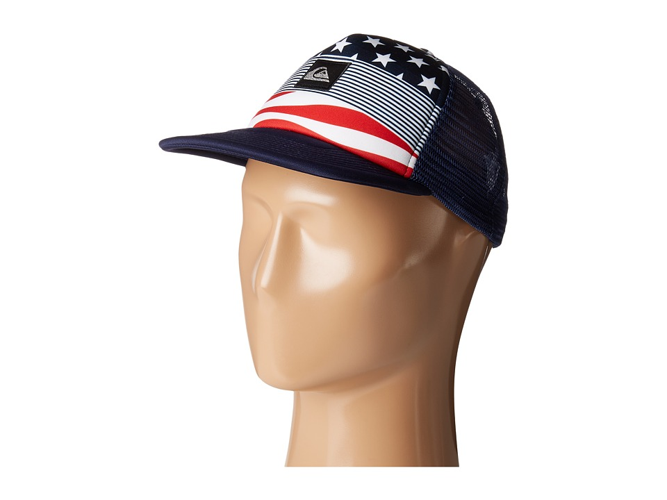 Quiksilver - Boardies Hat (Little Kids/Big Kids) (Star Spangled Stripe) Caps