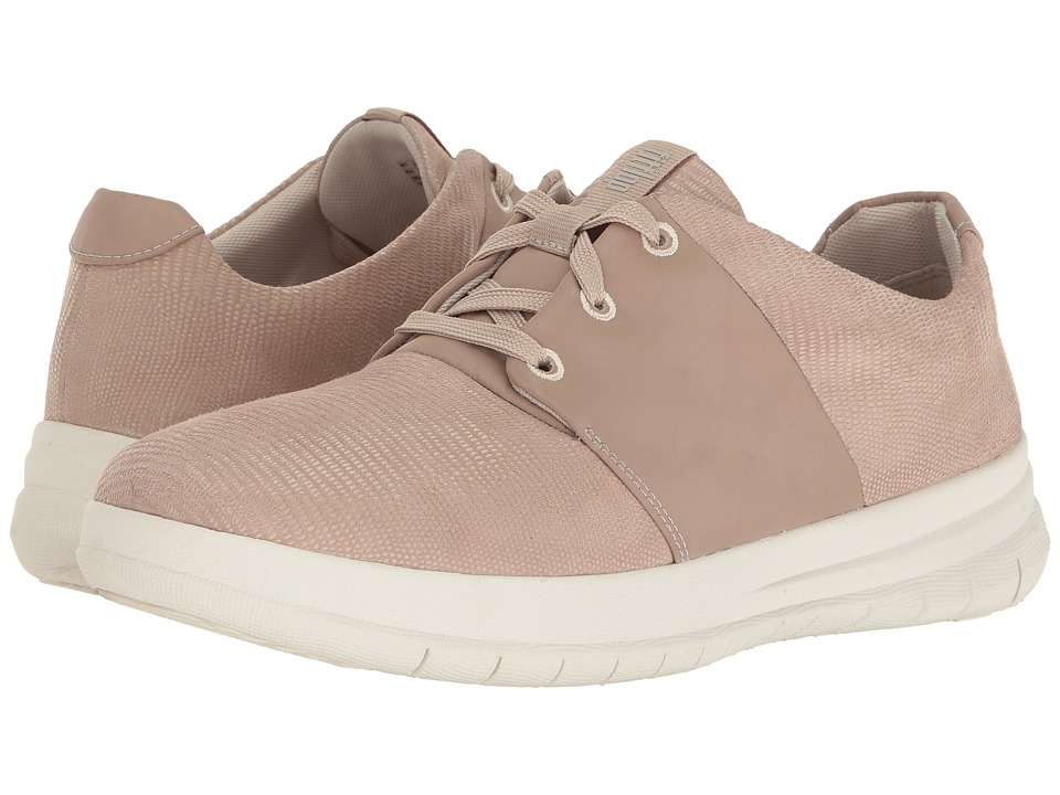 FitFlop - Sporty-Pop X Lizard Print Sneaker (Nude Pink) Women's Shoes