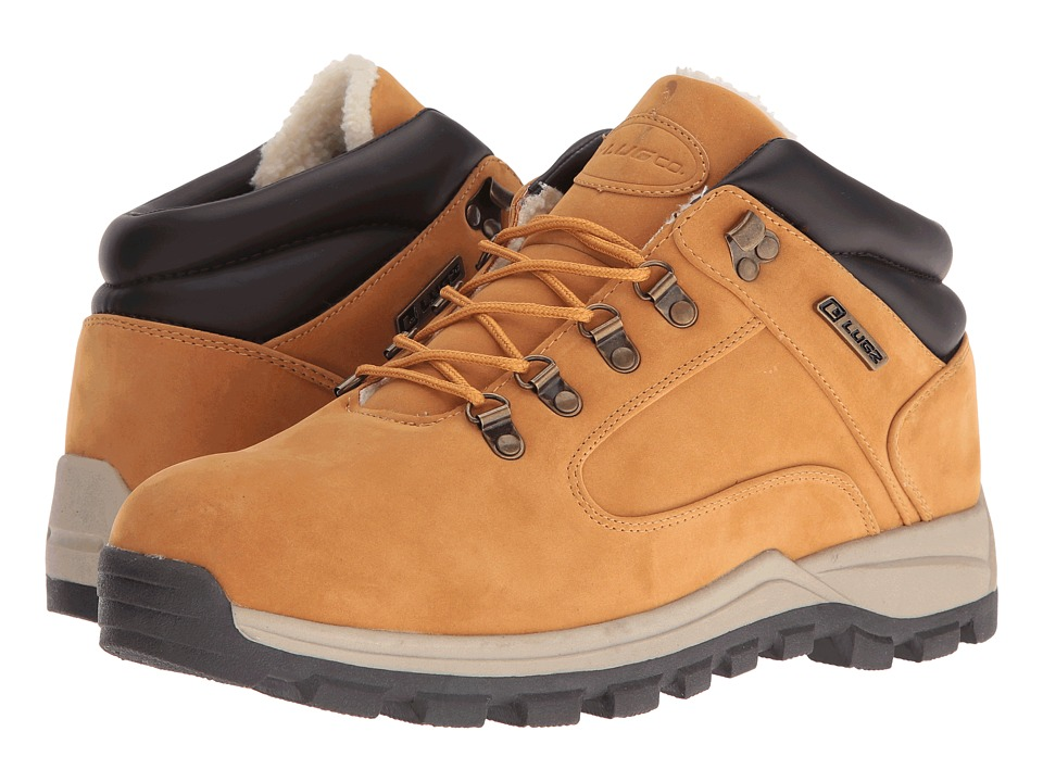 Lugz Lumber Fleece Sr (Golden Wheat/Cream/Bark) Men