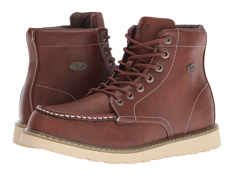 Lugz - Roamer Hi (Dark Brown/Gum/Cream) Men's Shoes