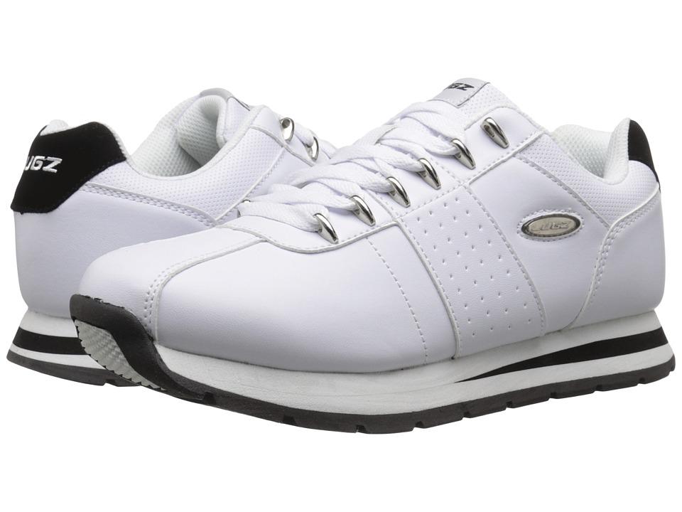 Lugz - Run Classic (White/Black) Men's Shoes