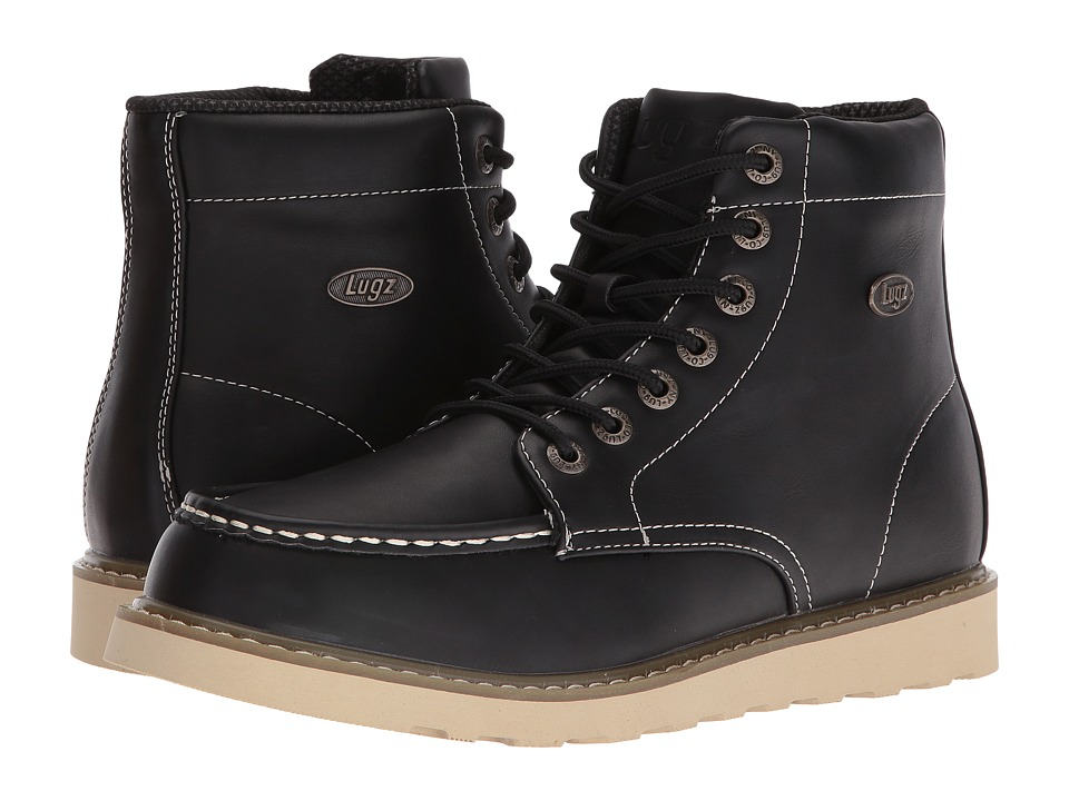 Lugz Roamer Hi (Black/Gum/Cream) Men
