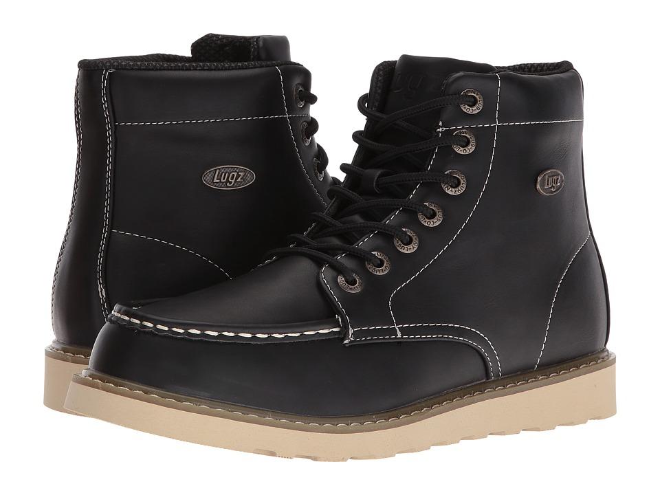 Lugz - Roamer Hi (Black/Gum/Cream) Men's Shoes