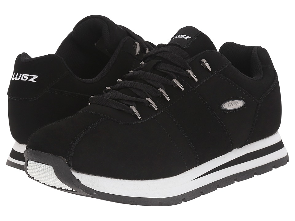 Lugz Run Classic (Black/White) Men