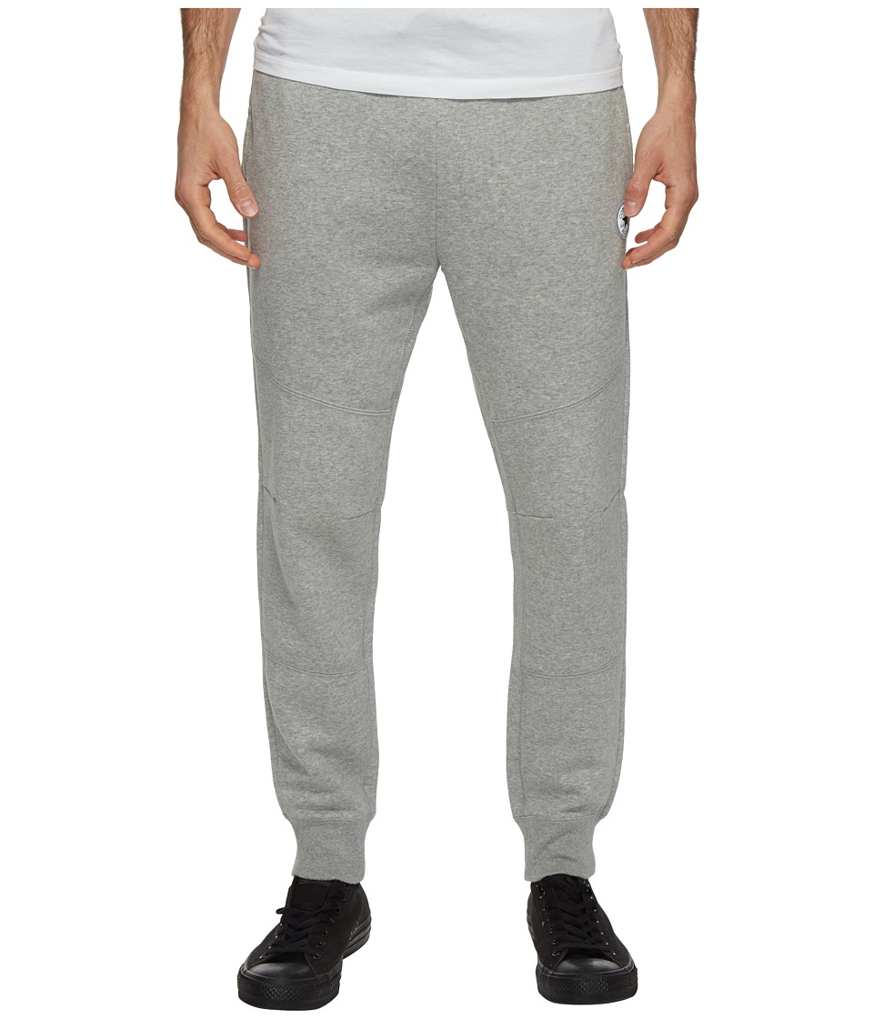 Converse - Core Reflective Panel Jogger Pants (Vintage Grey Heather) Men's Casual Pants