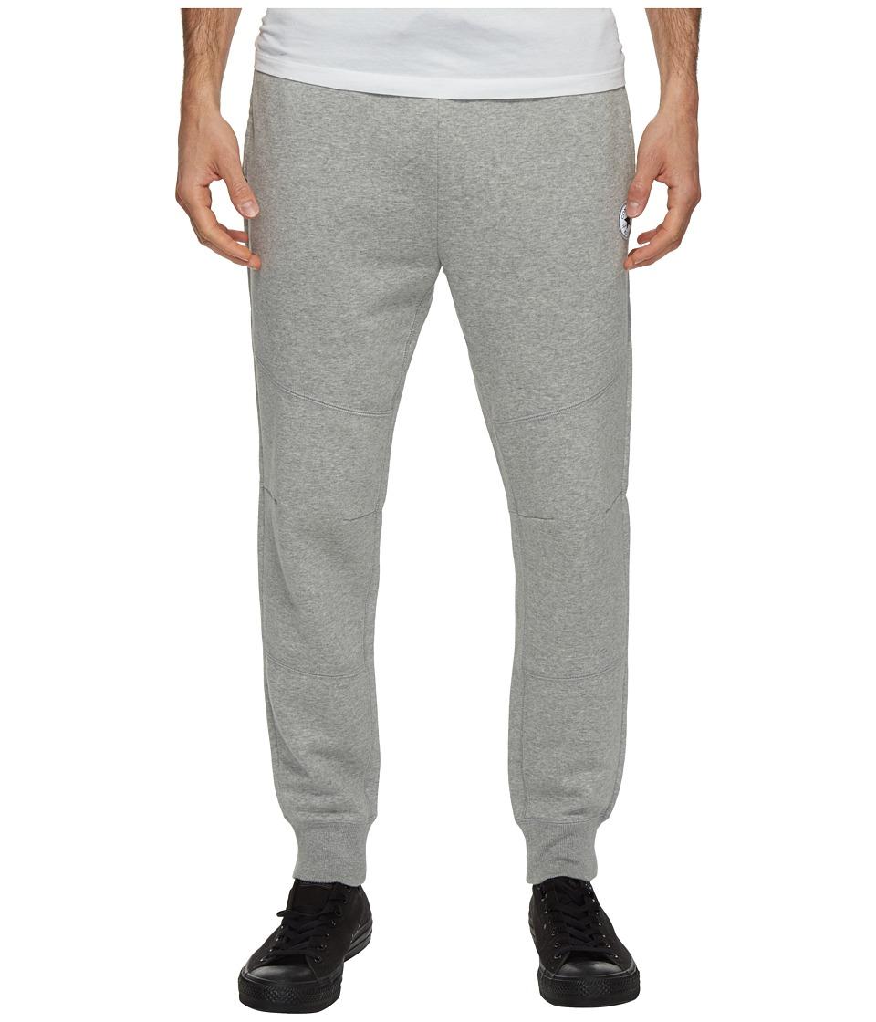 Converse - Core Reflective Panel Jogger Pants (Vintage Grey Heather) Men's Casual Pants